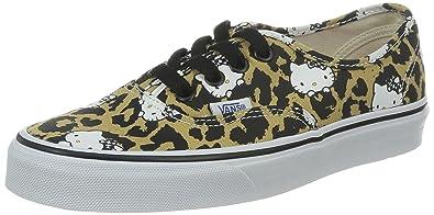 8b7ece73f7cc4f Vans Authentic (Hello Kitty) Leopard True White Shoe W4NDKS (UK4 ...