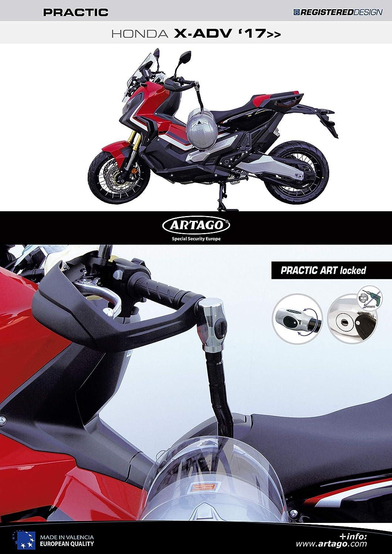 Artago 1651ART Candado Antirrobo Manillar Practic Art Alta ...