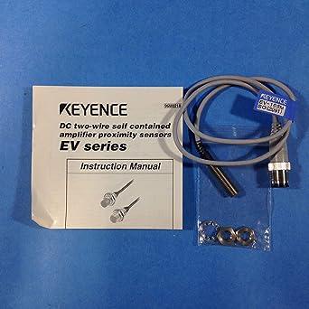 Keyence Corp EV-108MSO Proximity Sensor 12-24VDC Normally