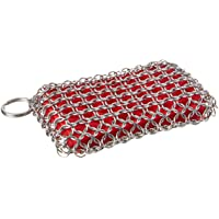 Lodge ACM10R41 Stainless Steel Chainmail Scrubbing Pad