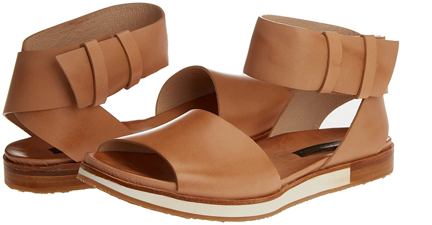Womens S500 Restored Skin Wood Cortese Sandals with Ankle Strap Neosens QOAhKc