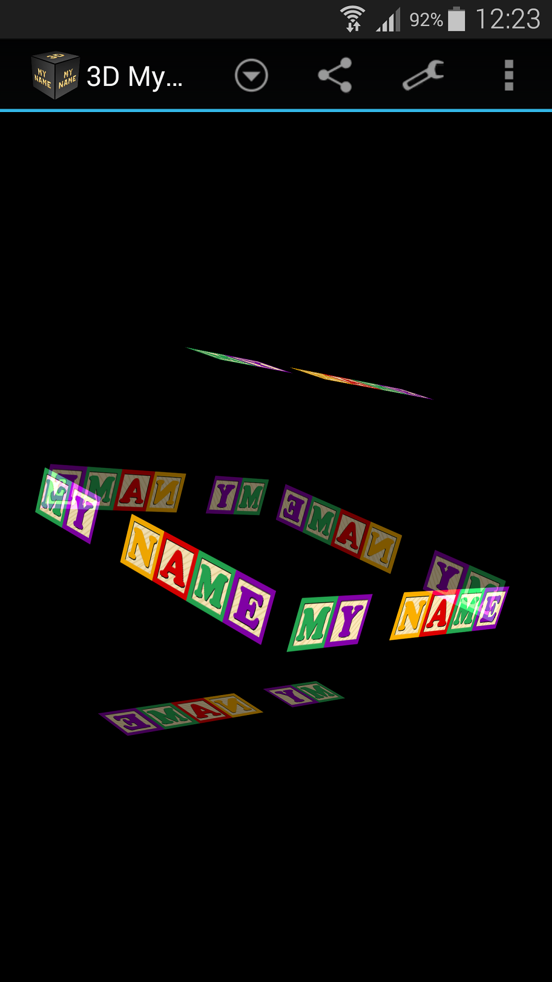 Amazon Com 3d My Name Live Wallpaper Appstore For Android