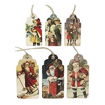 Sass & Belle Christmas Gift Tags - Vintage Style Christmas & Father ...
