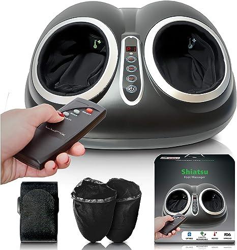 Upgraded Shiatsu Foot Massager Machine Electric Feet Massage