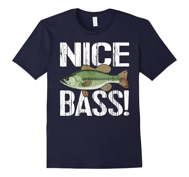 Bass Fishing Tshirt - Nice Bass Tee-TH