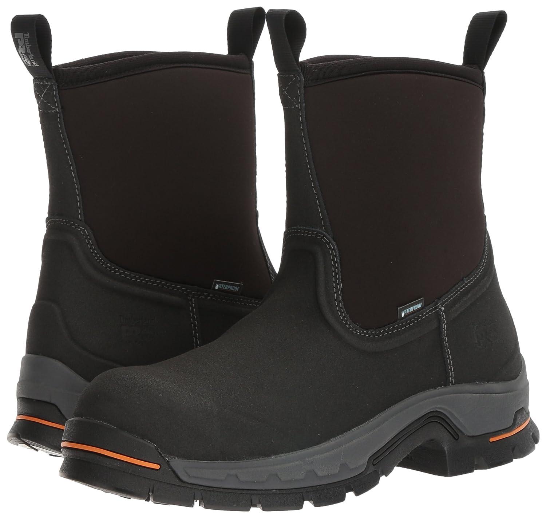 5f30619c17c Timberland PRO Men's Stockdale Pull-On Alloy Toe Waterproof Industrial &  Construction Shoe