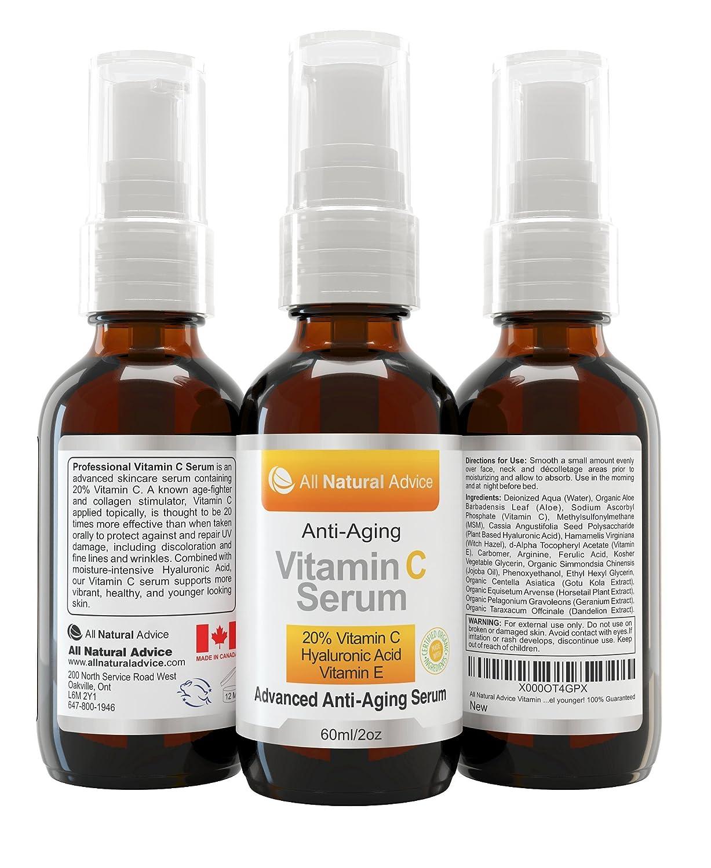 60ml organic vitamin c serum f r ihr gesicht 20 vitamin c in klinischer st rke ebay. Black Bedroom Furniture Sets. Home Design Ideas