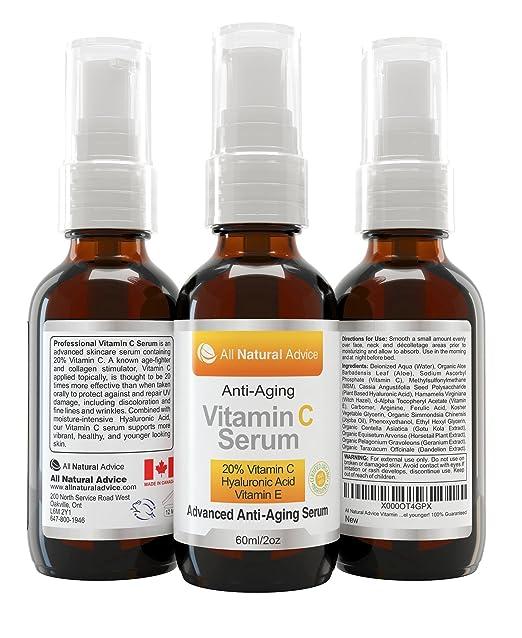 669 opinioni per Siero alla vitamina C 20% • Completamente organico • Enorme 60 ml • Vitamina E •
