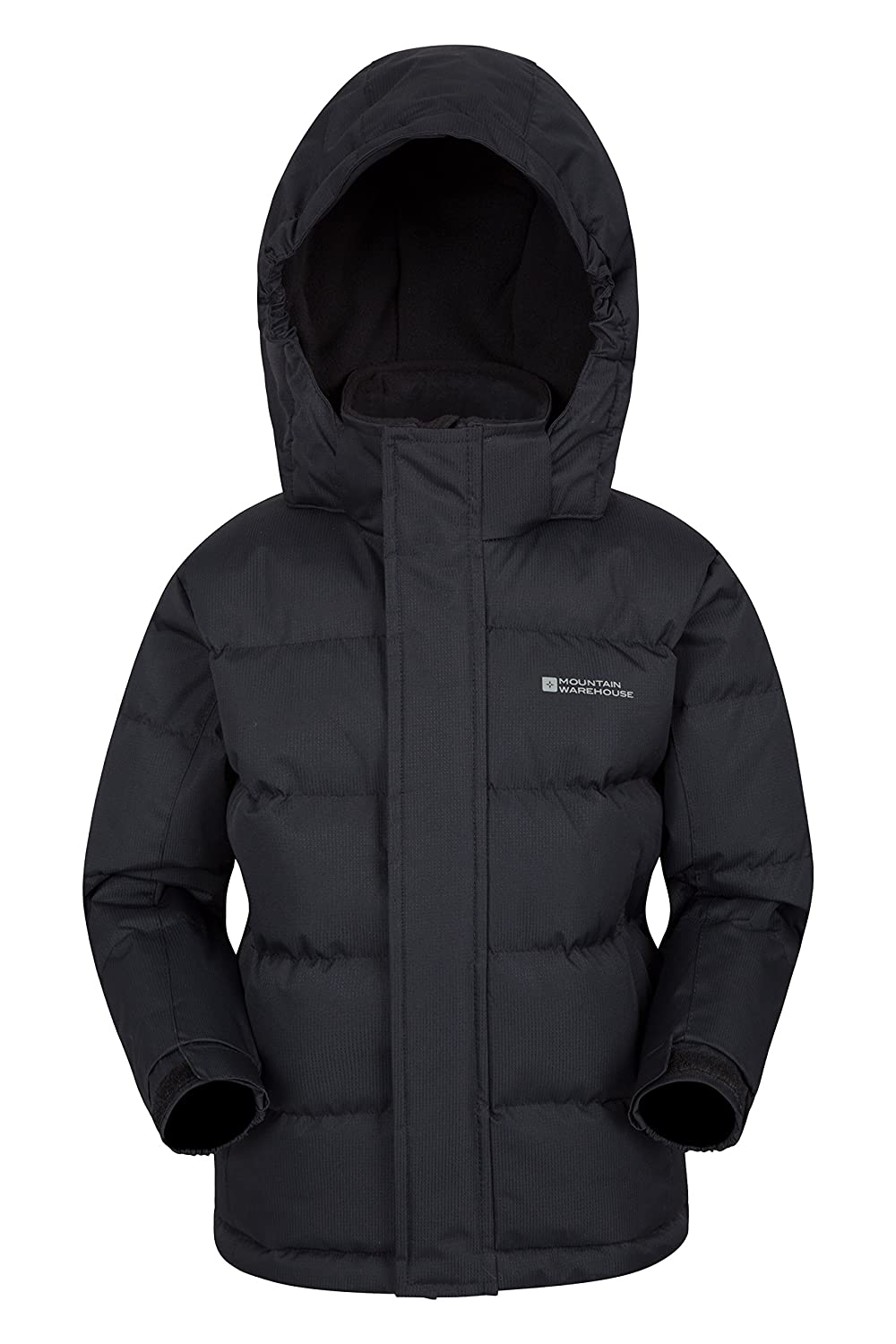 7cea1f573 Mountain Warehouse Snow Youth Padded Kids Jacket - Water Resistant ...