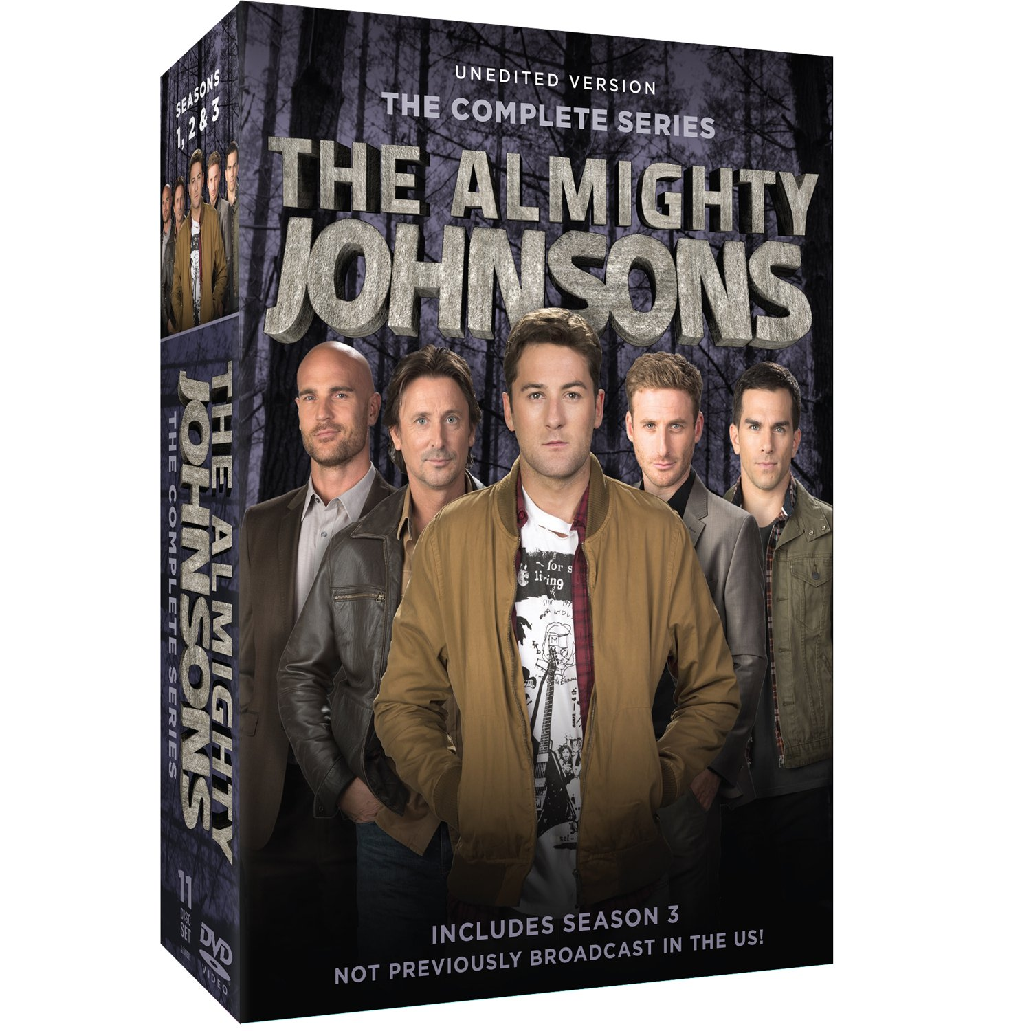 The Almighty Johnsons: Seasons 1-3