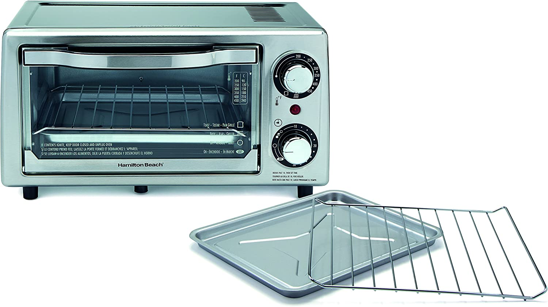 Hamilton Beach 31137 4-Slice Toaster Oven