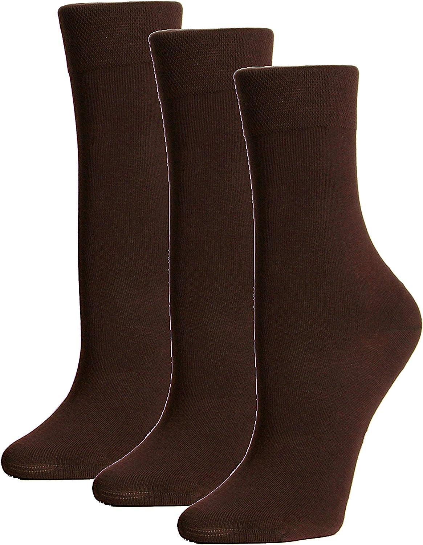 ARGENTO 39//42 6 paia calze da uomo senza elastico cotone per diabetici senza cuciture