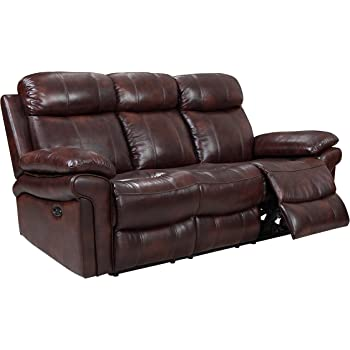 Amazon Com Oliver Pierce Op0034 Hudson Reclining Leather