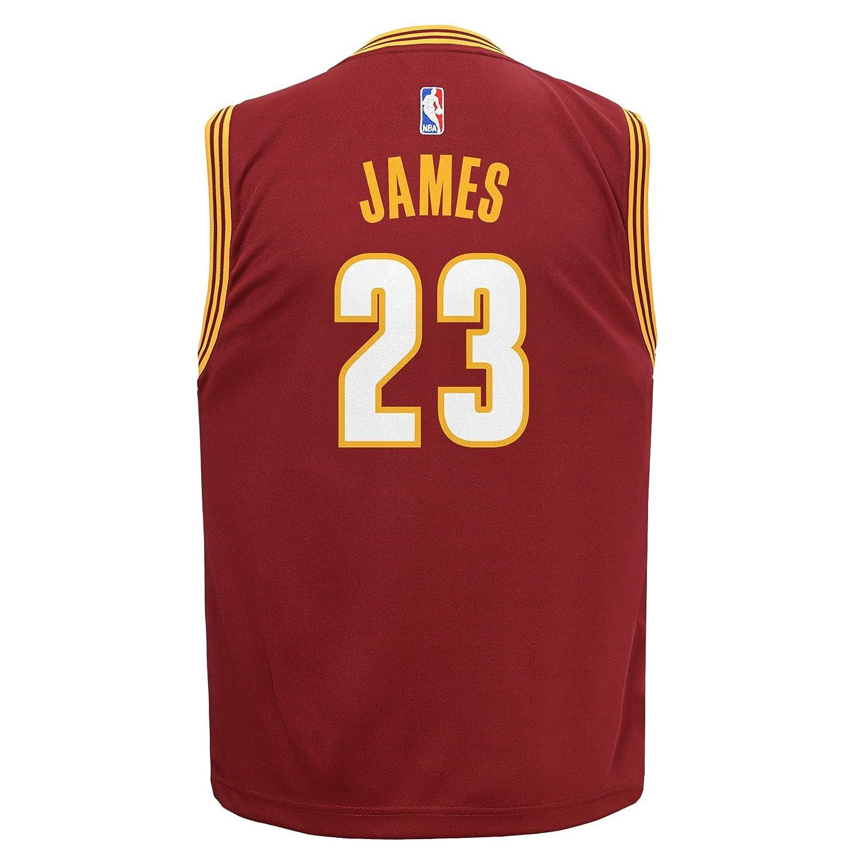 quality design b2741 a449c NBA Youth 8-20 Cleveland Cavaliers James Replica Stretch ...