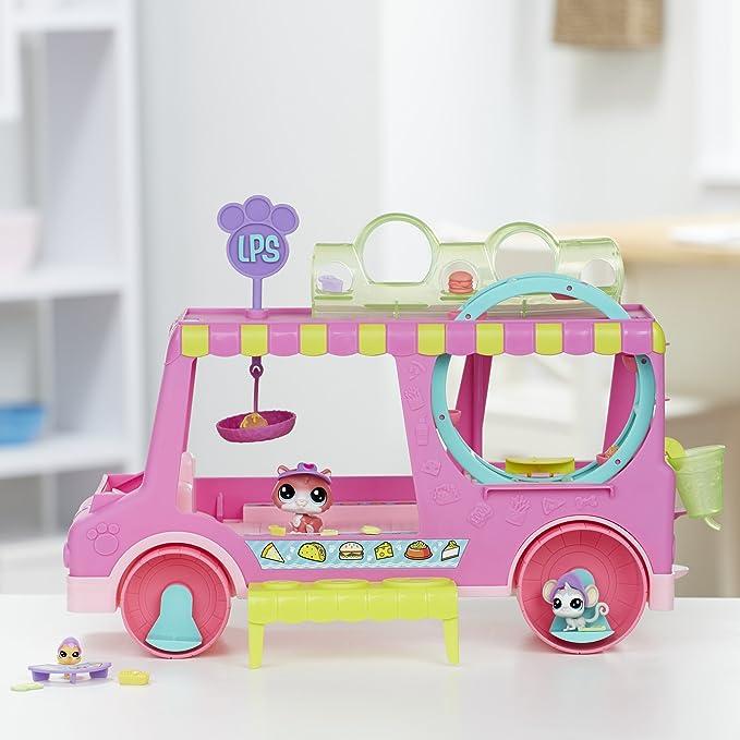 Littlest Pet Shop - Foodtruck (Hasbro E1840EU4): Amazon.es: Juguetes y juegos