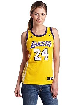 Adidas NBA Los Ángeles Lakers Kobe Bryant réplica de la Camiseta de la Mujer, NBA