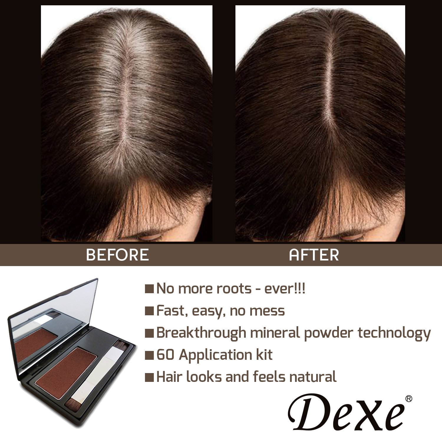 Amazon.com: Dexe Root Touch Up - Cover Up Your Gray Between Coloring ...