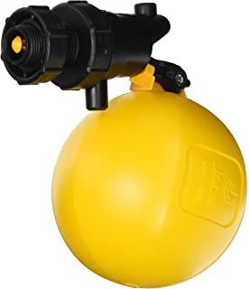 """3//4/"""" Yellow//Black Jobe Valves RJVC20 Rojo Compact Float Valve"""