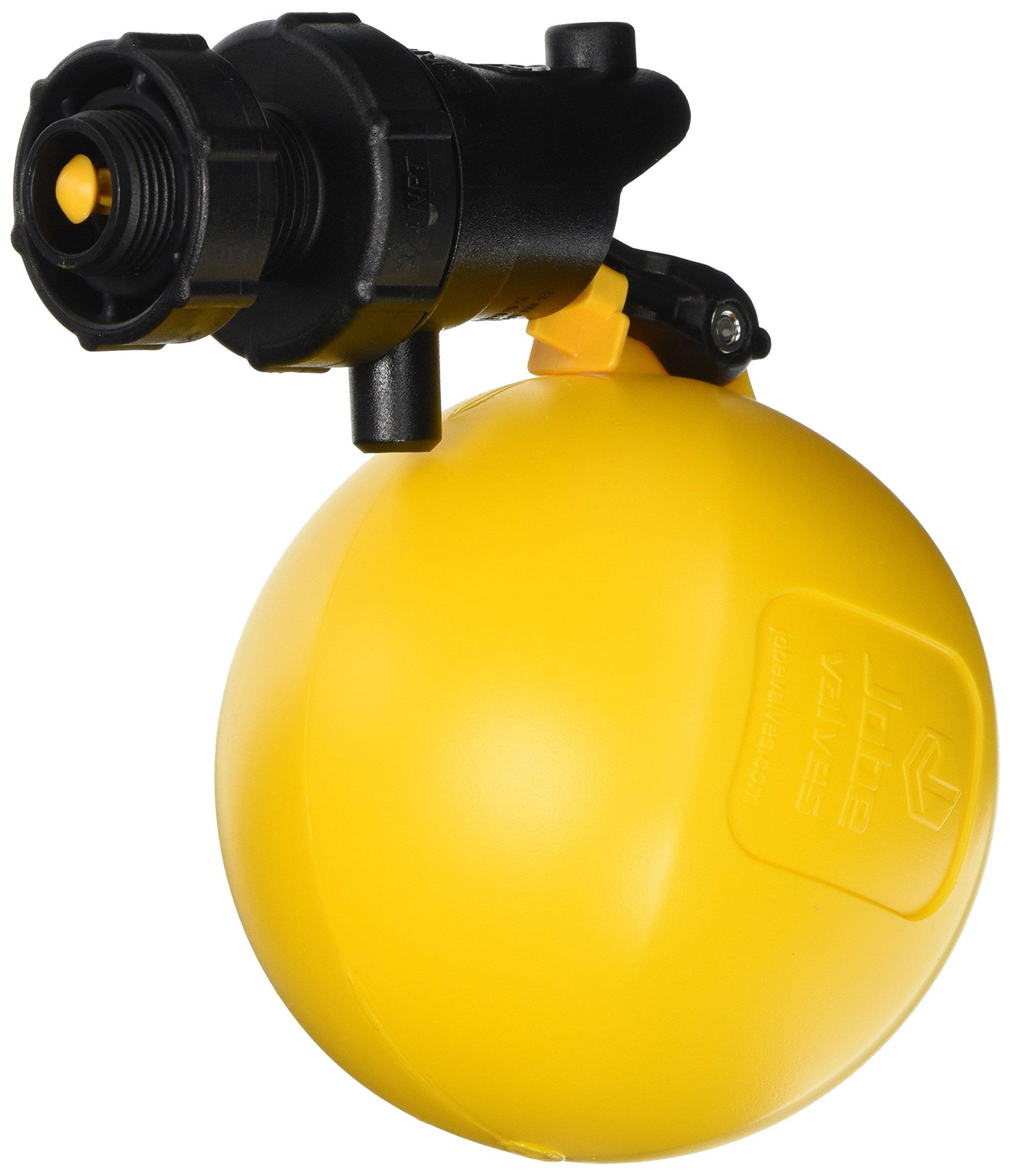 Rojo Float Valve, 3/4'', Black/Yellow