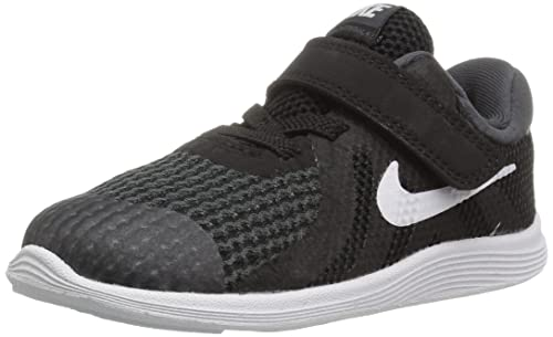 Revolution 4 (TDV), Zapatillas de Estar por Casa Bebé Unisex, Negro (Black/White/Anthracite 006), 18.5 EU Nike