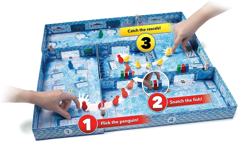 Brain Games Publishing Ice Cool – eléctrico destreza Juego de Acción para Todas Las Edades – Los niños, Familia, Adultos, y Jugadores: Amazon.es: Juguetes y juegos
