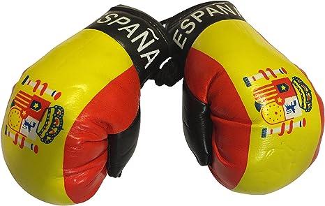 FNG Mini Boxing Gloves Bandera Mini guantes de boxeo pequeños para colgar más de coche automóvil espejo – Europa, Country: Espana Spain: Amazon.es: Deportes y aire libre