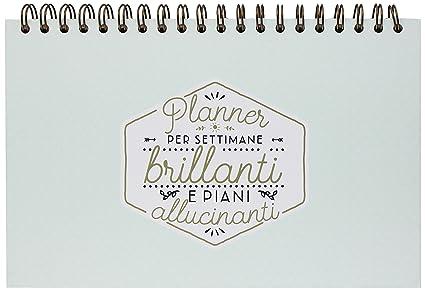 Mr. Wonderful Agenda Semanal, planificador semanal para ...