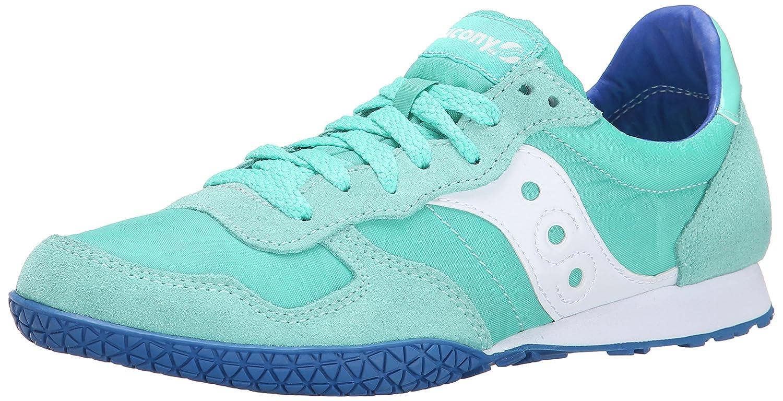 Saucony Originals Women's Bullet Sneaker B00QLANJU6 7 B(M) US|Mint/Blue