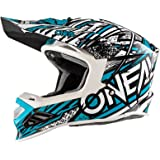 O'Neal 8Series MX Helm Synthy Motocross Enduro Offroad Quad Cross Motorrad, 0614-2