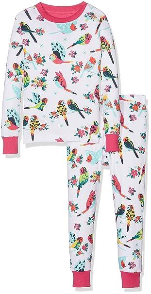 Hatley 100% Organic Cotton Long Sleeve Printed Pyjama Set, Conjuntos de Pijama para Niños