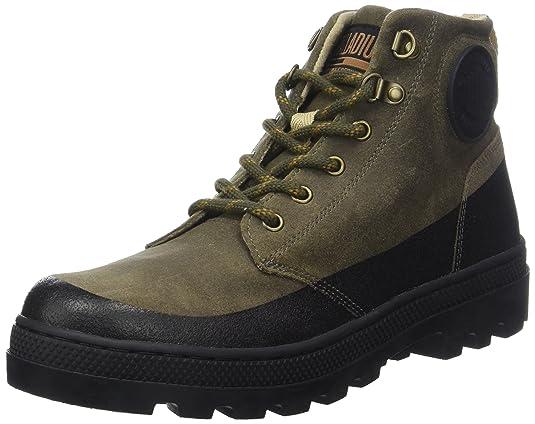 Palladium Herren Plboss Hikr M Hohe Sneaker, Major Marron