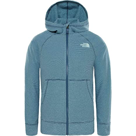 58ad6ab8e THE NORTH FACE Boy s Glacier Full Zip Hoodie  Amazon.co.uk  Clothing