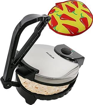 StarBlue 10-Inch Non-Stick Electric Tortilla Maker