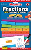 Fiesta Crafts Fractions with Decimals and Percentages Magentic Activity Chart