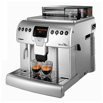 Saeco Aulika One Touch Cappuccino Focus Independiente Totalmente automática Máquina espresso 2.2L 30tazas Acero inoxidable