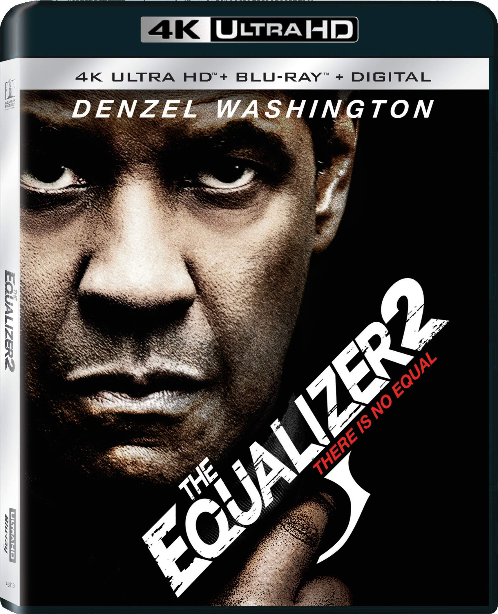 4K Blu-ray : The Equalizer 2 (With Blu-ray, 4K Mastering, Digital Copy, 2 Pack)