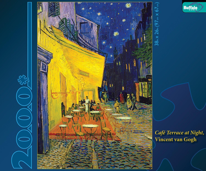Vincent van Gogh  Cafe Terrace at Night (2000 Piece Puzzle)