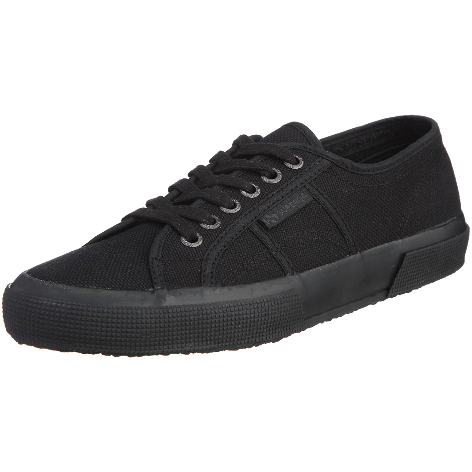 Superga Women's 2750 Cotu Sneaker B002WQ01CM 10.5 B(M) US|Total Black