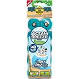 Bags on Board Refill Bags Ocean Breeze Scent Roll, Green, 140 Bags (14 x 10)