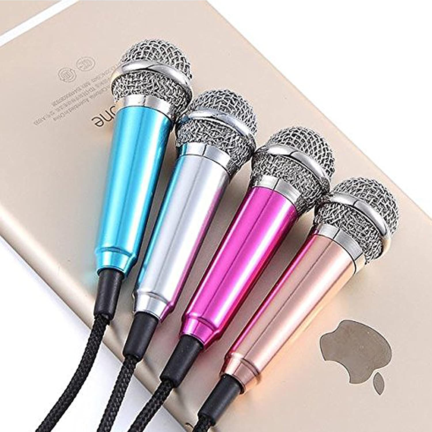 Ascension Smart Phone Mini 3 5mm Pocket Size Microphone For Pc Mobile Mini Microphone Android Iphone Mobile Phone Computer Mobile Phone Sing Karaoke Color May Vary Amazon In Musical Instruments