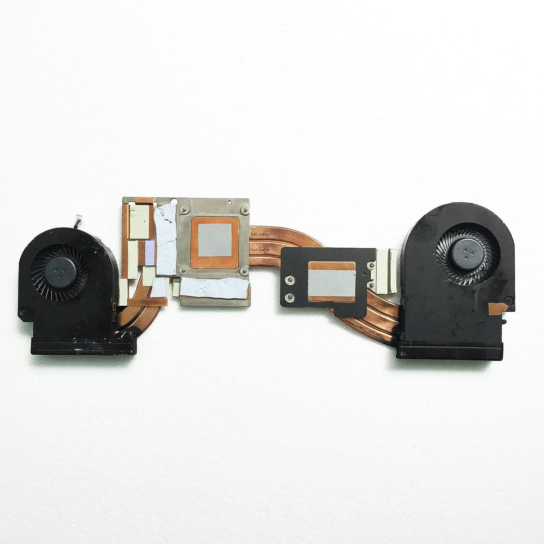 Z-one Fan Heatsink Replacement for Dell Precision 7710 M7710 Series CPU Cooling Fan Heatsink 0YJNJK YJNJK 4-Wires