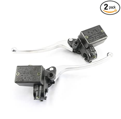 Amazon.com: Honda Motorcycle Hydraulic Brake and Clutch Master Cylinder Set - Front Mount Outlet: Automotive