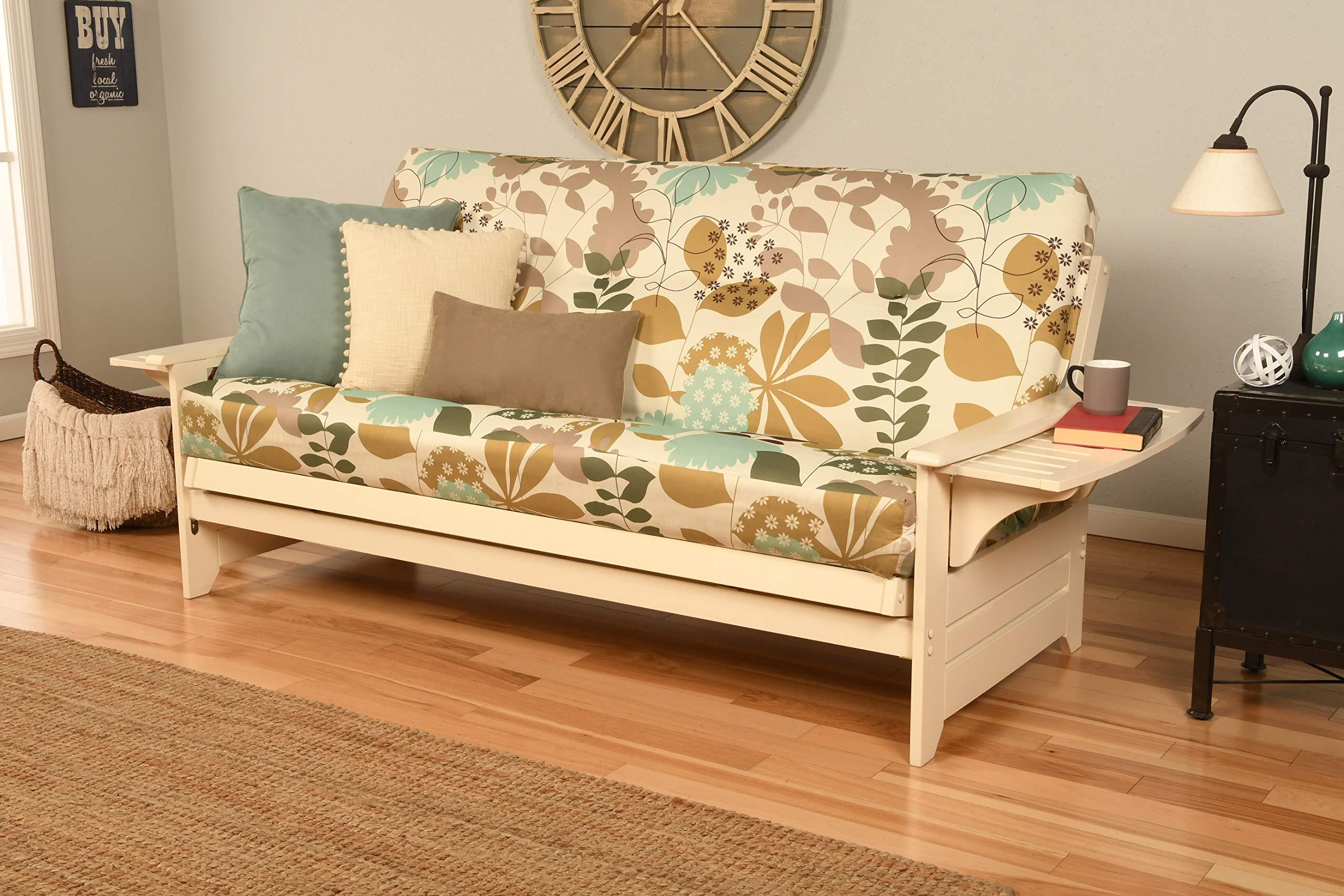 Phoenix Futon Sofa with English Garden Mattress by Kodiak Furniture