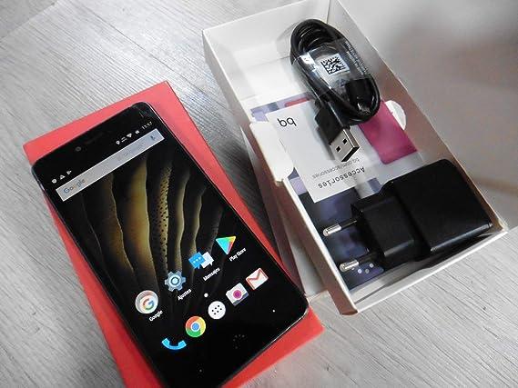 bq c000238 Smartphone (16GB Memoria, cámara DE 13 MP, 2 GB RAM ...