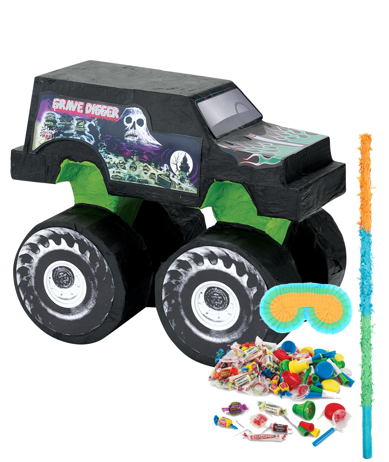 BirthdayExpress Monster Jam Party Supplies - Pinata Kit by BirthdayExpress