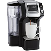 Hamilton Beach (49975) Single Serve Coffee Maker with 40 oz. Reservoir, For Use With K Cups or Ground Coffee, Programmable