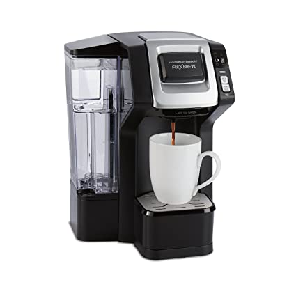 Hamilton Beach 49975 Single Serve Coffee Maker With 40 Oz Reservoir For