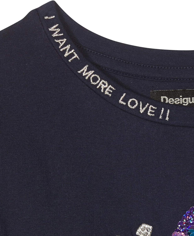 Desigual T-Shirt Stockport Maglietta a Maniche Lunghe Bambina