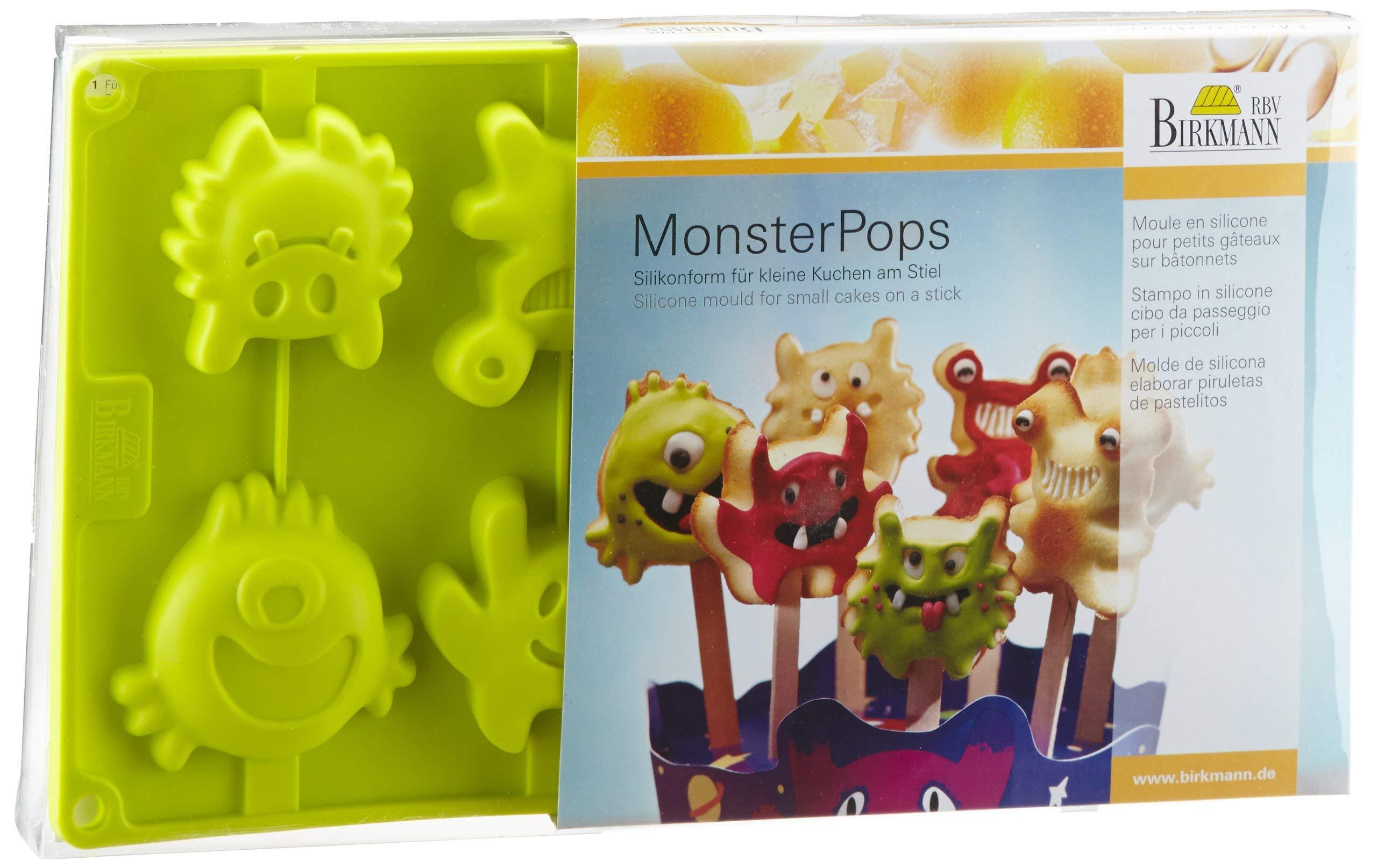 Birkmann Silicone Monster Pops Baking Mold