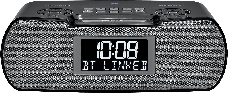 Sangean RCR-20 FM-RDS (RBDS) AM/Bluetooth/Aux-in/USB Phone Charging Digital Tuning Clock Radio